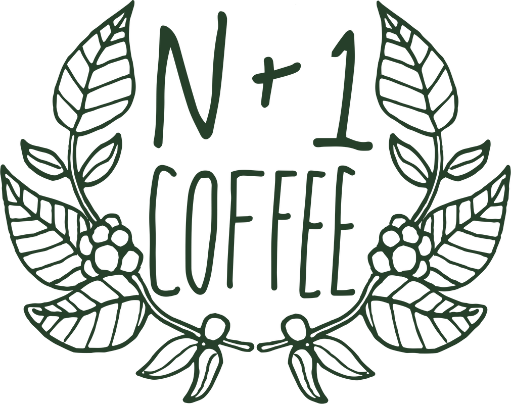 N+1 Coffee Green Logo